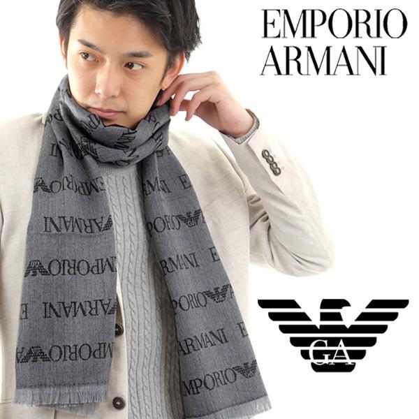 マフラー メンズ/レディース/ブランド EMPORIO ARMANI エンポリオアルマーニ マフラー 60EA19A-625053-CC786|redrose