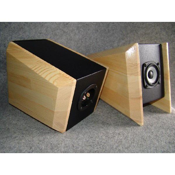 小型BOX入り:8cm高音質フルレンジ<SLR−PUPPY:子犬>新品2本|redzone2019r|02