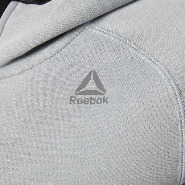 全品ポイント15倍 7/17 18:00〜7/19 17:59 アウトレット価格 リーボック公式 パーカー Reebok ワンシリーズ クイックコットン フルジップパーカー|reebok|06