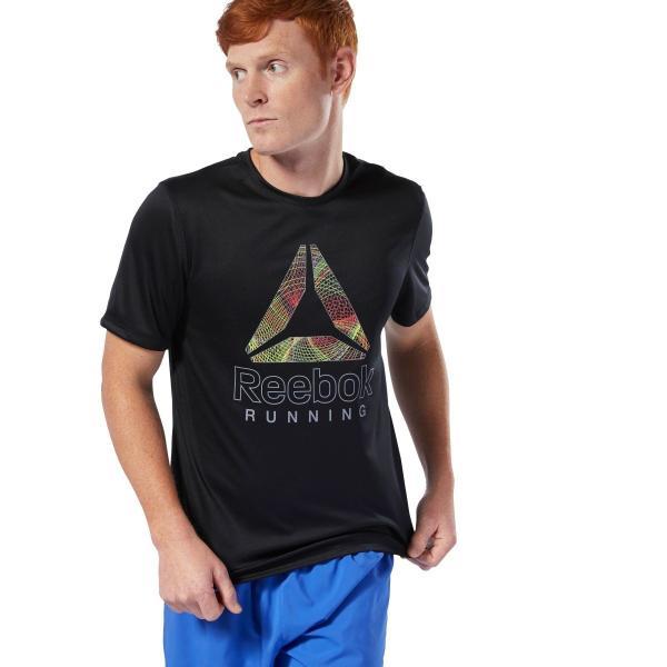 全品ポイント15倍 09/13 17:00〜09/17 16:59 セール価格 リーボック公式 Tシャツ Reebok ランニング グラフィック Tシャツ|reebok