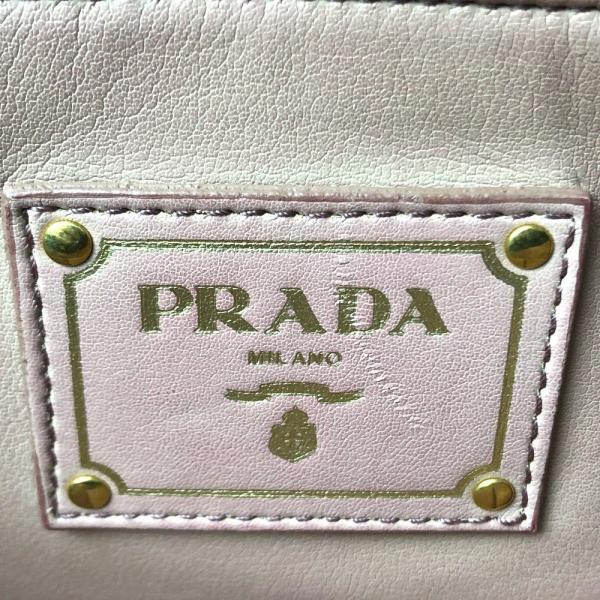 PRADA プラダ BR4401 サフィアーノソフト ショルダーバッグ NERO ブラック レディース 【中古】