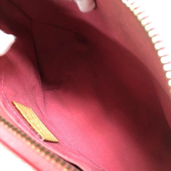 LOUIS VUITTON ルイ・ヴィトン M9146F ミンナストリート モノグラム・ヴェルニ ショルダーバッグ フランボワーズ ピンク レディース 【中古】