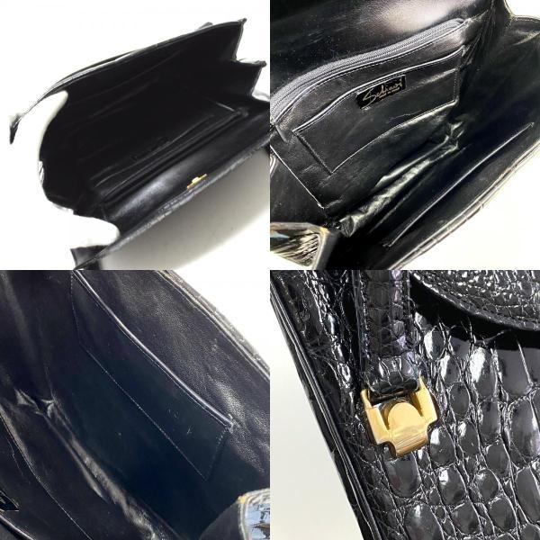 no brand ノーブランド ハンドバッグ ブラック レディース 【中古】