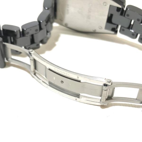 CHANEL シャネル H2543  J12 腕時計 ブラック レディース 【中古】