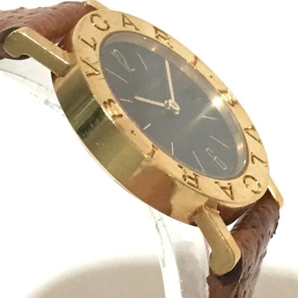 BVLGARI ブルガリ BB26GL ブルガリ・ブルガリ 腕時計 イエローゴールド レディース 【中古】