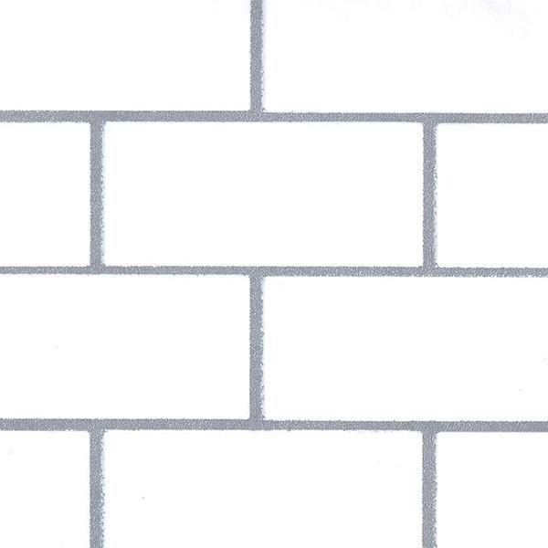 壁紙 シール壁紙 貼ってはがせる はがせる壁紙RILM 93cm幅オーダーカット 580 サブウェイタイル 返品・交換不可 reform-myhome 03