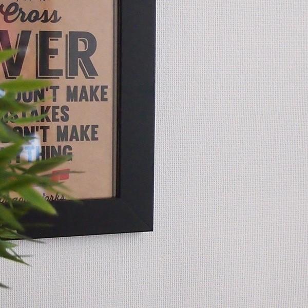 壁紙 シール壁紙 貼ってはがせる はがせる壁紙RILMベーシック 93cm幅オーダーカット 910 布地調のホワイト 返品・交換不可 reform-myhome 02