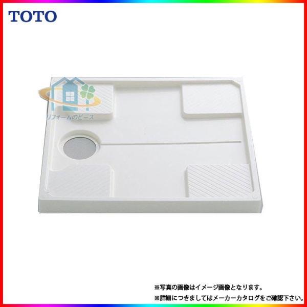 TOTO 洗濯機用防水トレイ PWP740W ホワイトの画像