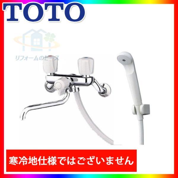 TMS25C TOTO浴室シャワー水栓壁付タイプ一時止水なし