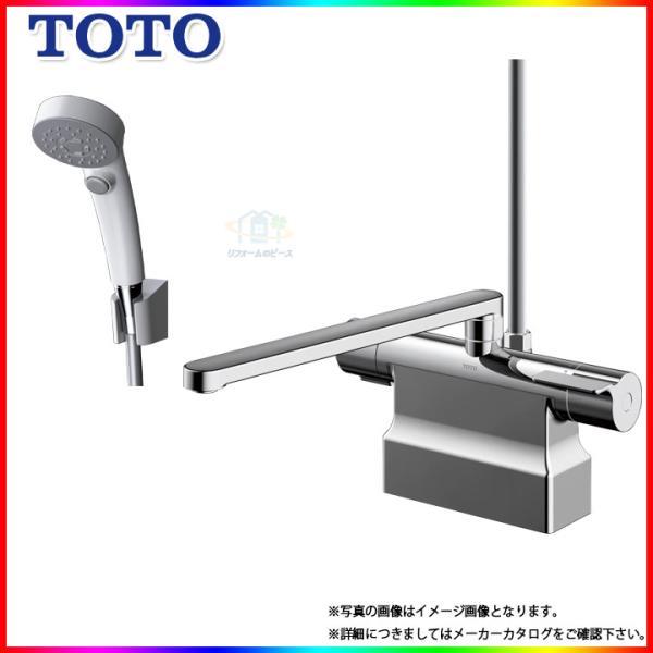 TBV03424J TOTO浴室エコシャワー水栓蛇口サーモ付き台付きタイプデッキタイプ