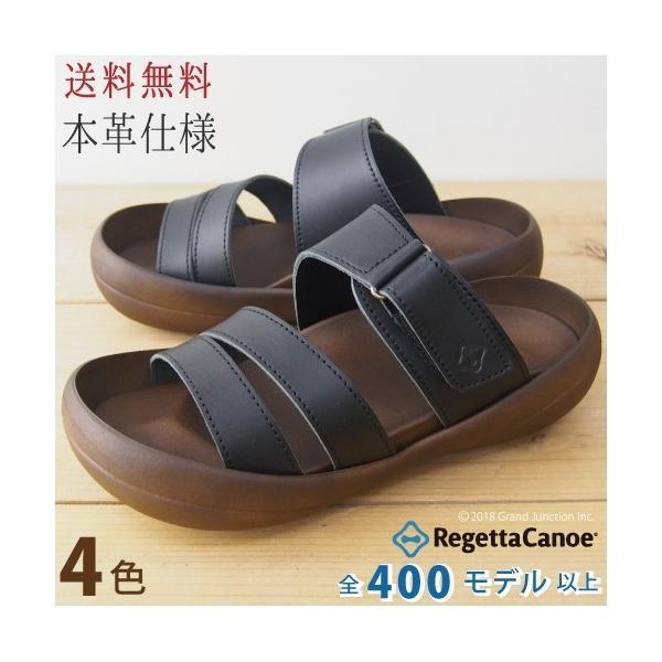 リゲッタ カヌー サンダル メンズ おしゃれ レザー 本革 leather|regettacanoe-gj