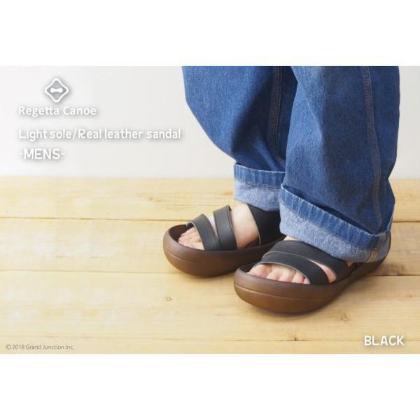 リゲッタ カヌー サンダル メンズ おしゃれ レザー 本革 leather|regettacanoe-gj|05