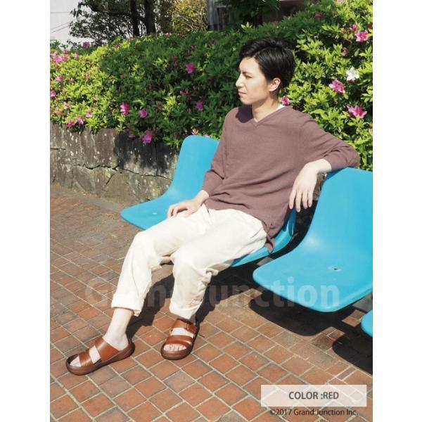 リゲッタ カヌー サンダル メンズ おしゃれ レザー 本革 leather|regettacanoe-gj|08