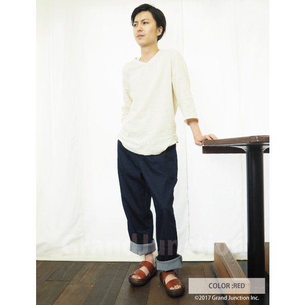 リゲッタ カヌー サンダル メンズ おしゃれ レザー 本革 leather|regettacanoe-gj|10