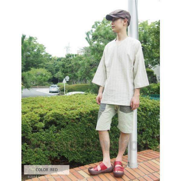 リゲッタカヌー サンダル メンズ ビッグフットサンダル コンフォートサンダル|regettacanoe-gj|11