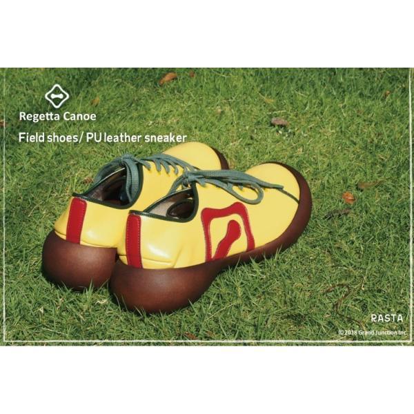 カヌー 靴 レディース PUレザーフラットスニーカー CJFS6802|regettacanoe-gj|03