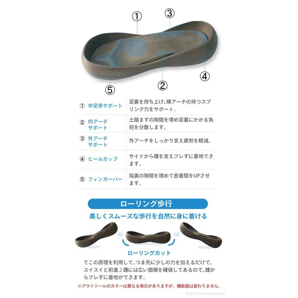 リゲッタカヌー サンダル メンズ ビッグフット 矢絣模様 3本ベルトサンダル 和柄 regettacanoe-gj 10