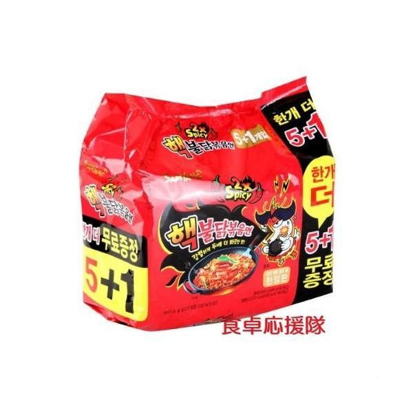 ブルダック炒め麺140g×6袋 激辛2倍 ヘクブルダック [並行輸入品]|regista-fuji
