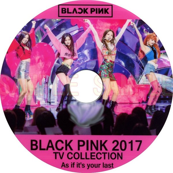 dvd black pink 2017 tv live collection blackpink blackpink 11. Black Bedroom Furniture Sets. Home Design Ideas