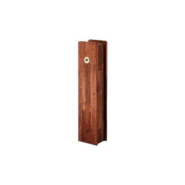 カクダイ ガーデニング用品(緑化 庭園 散水用他) 角水栓柱用化粧カバー(木)