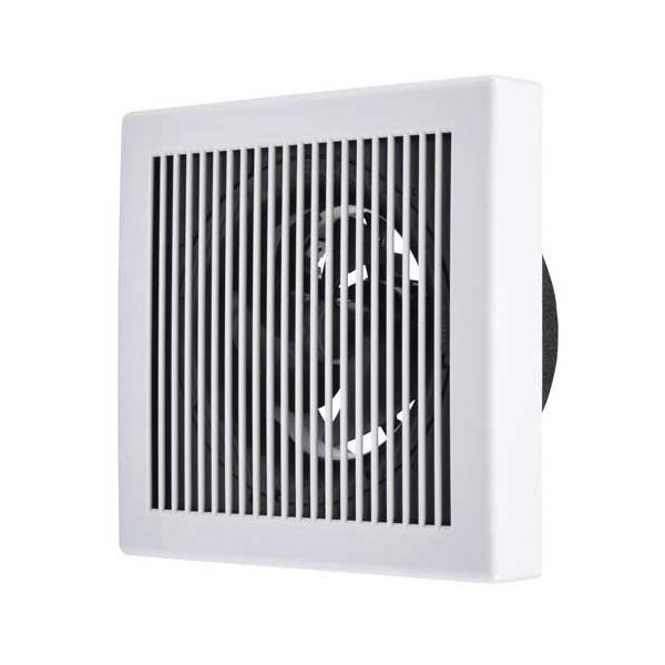 三菱電機換気扇V-12P7パイプ用ファンサイレントウェーブレットファン角形格子グリル接続パイプΦ150mm居室・トイレ・洗面所