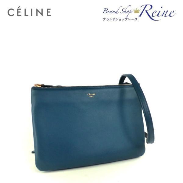 セリーヌ(CELINE) トリオPM 2way ショルダー クラッチ バッグ 16511 新品