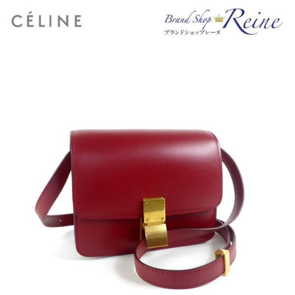 セリーヌ(CELINE) クラシック スモール ボックス ショルダー バッグ 18918 未使用品 【中古】
