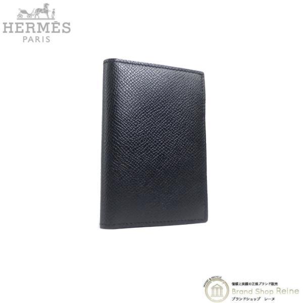 エルメス(HERMES)MC2ユークリッドヴォーエプソンブラックD刻カードケースカードホルダー新品