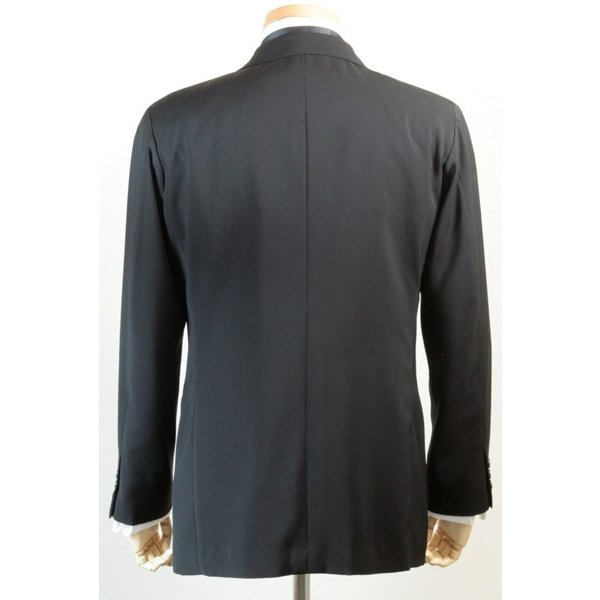 社交ダンス ジャケット シングル 2ボタン メンズ 濃染 黒 ブラック ダンス 衣装 上着 平服 日本製 6700|reisouclub|04