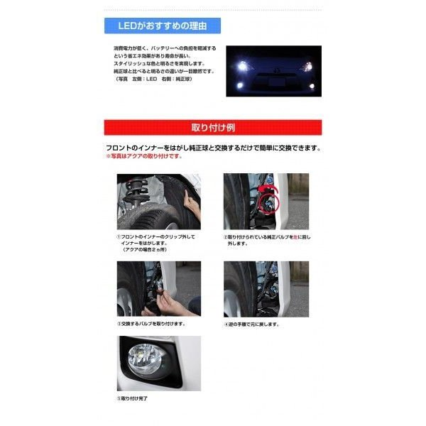 LEDフォグランプ HB4 CREE 30W 白/ホワイト 送料無料|reiz|05