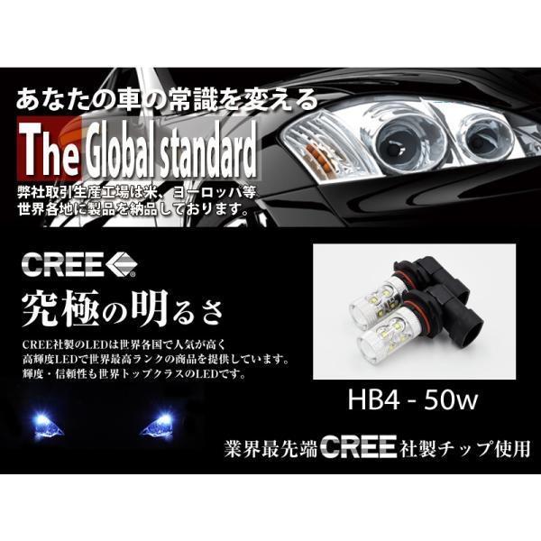 LEDフォグランプ HB4 CREE 50W  白/ホワイト LEDバルブ 送料無料|reiz|02