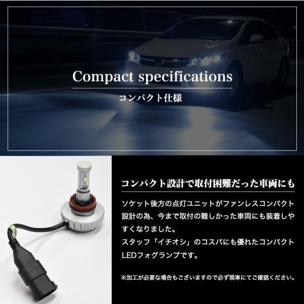 LEDフォグランプ H8/H11/H16/HB4/PSX26W 3000ルーメン イエローフォグ カラー耐熱フィルム 色温度変更可能 led フォグランプ 送料無料|reiz|06