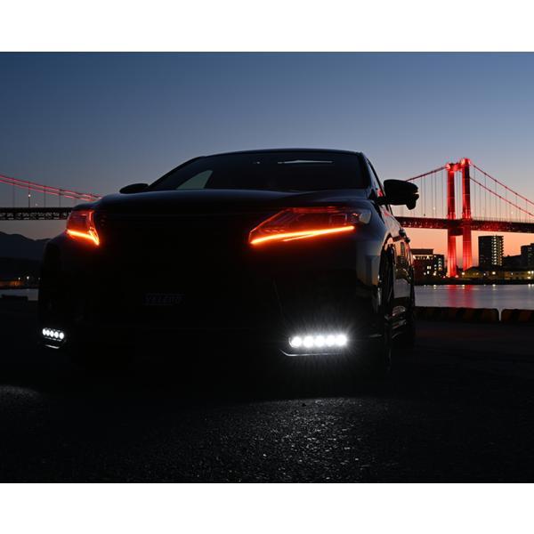 シーケンシャルウインカー シリコン 流れるウインカー ツインカラー LED テープライト led 156チップ 60cm VELENO 2本セット 簡単取付 流星 12V 送料無料|reiz|05