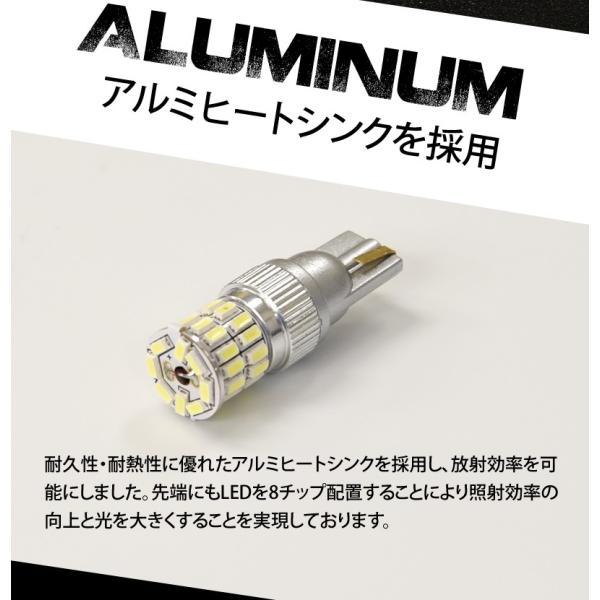 T10 T16 LED ポジション バックランプ ウインカー 爆光 無極性 36w 白/ホワイト/アンバー/赤/青 3014チップ スモール 送料無料|reiz|05