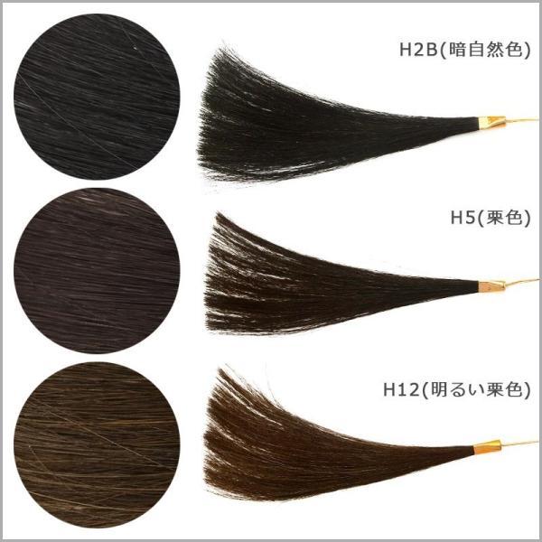 つむじ用部分ウィッグ(かつら)Mサイズ 人毛100% 薄毛白髪|reizvoll|06