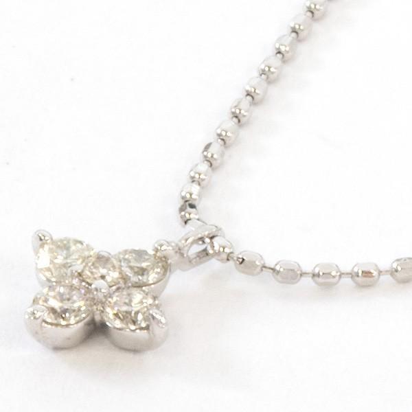 K18ホワイトゴールド ダイヤモンドネックレス【新古品】 rejewelry 02