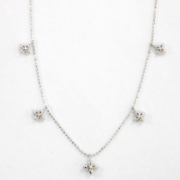 K18ホワイトゴールド ダイヤモンドネックレス【新古品】 rejewelry 03