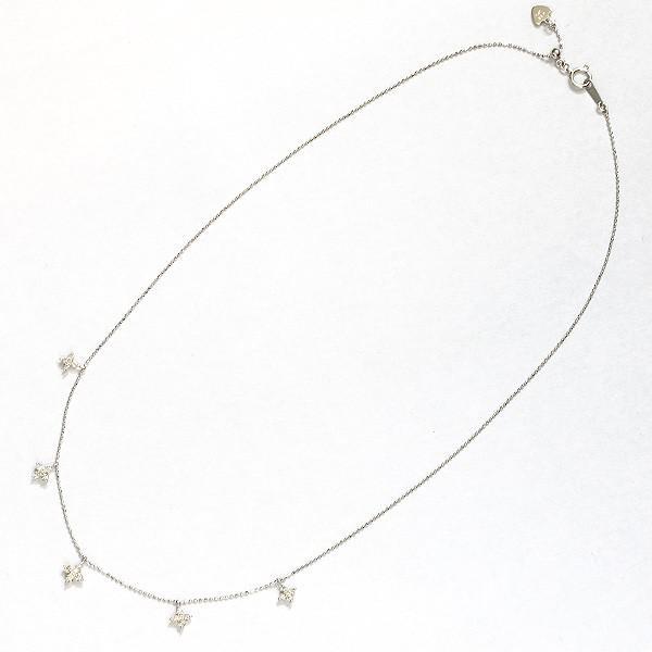 K18ホワイトゴールド ダイヤモンドネックレス【新古品】 rejewelry 04