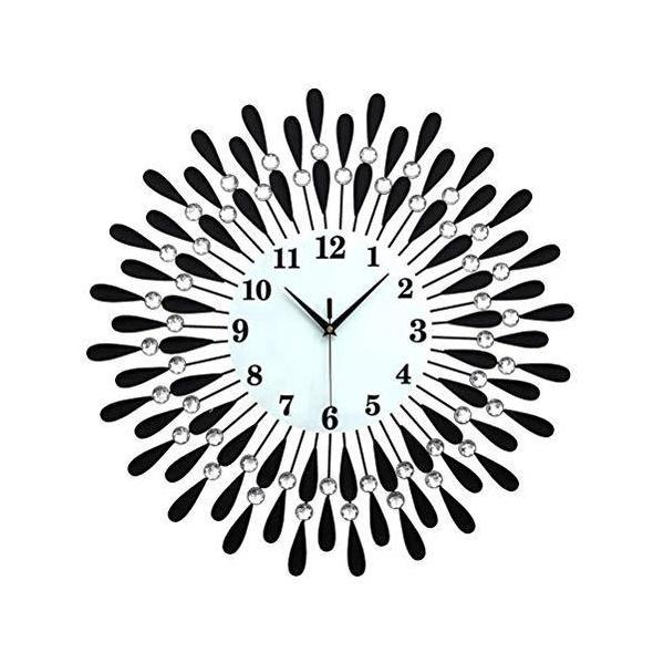 壁時計欧式壁掛け時計壁飾り時計静音高級モダンおしゃれ個性インテリアリリビングオフィス玄関客