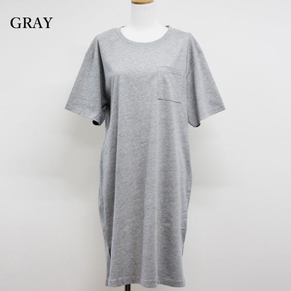レディース ファッション 40代 30代 春 ワンピース Tシャツワンピース カジュアル ナチュラル 体形カバー ゆったり 半袖 シンプル 無地|relaclo|04