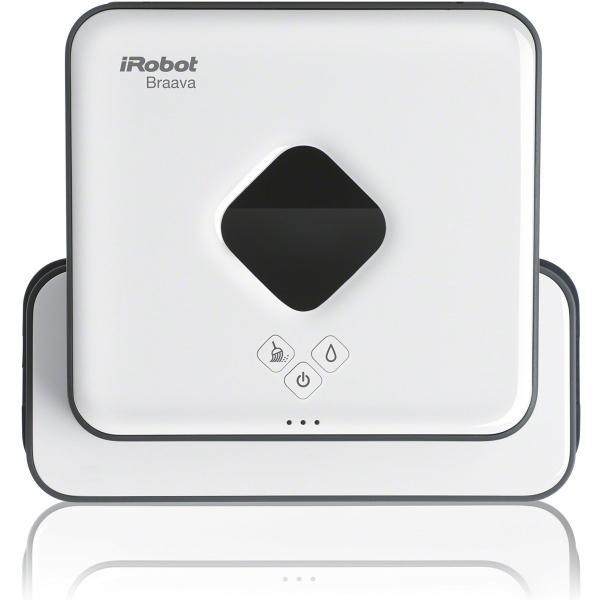 ブラーバ371j  アイロボット 床拭きロボット 静音 簡単操作 水拭き・乾拭き 落下防止 B371060|relawer