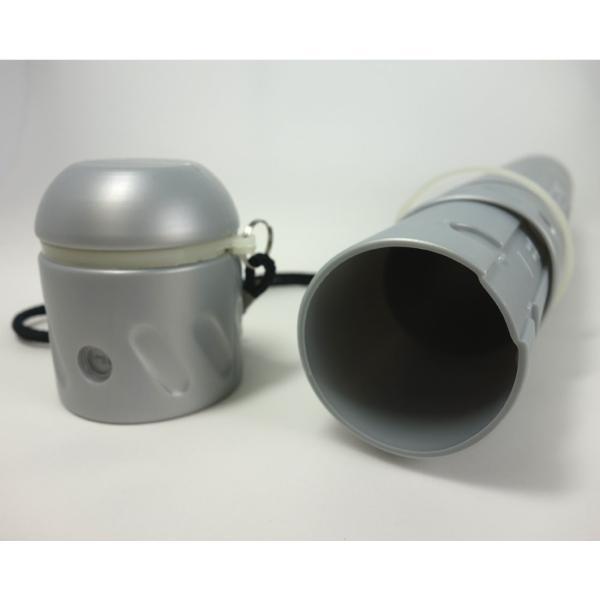 コクヨ 図面ケース フリーケース スライド式樹脂筒 A3~B1サイズ対応 シルバー セ-RF30C