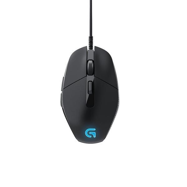 LOGICOOL ロジクールG302MOBAゲーミングマウス G302 ブラックの画像