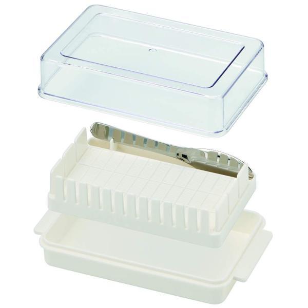 スケーター バターケース バター容器 バターカッター ガイド付 BTG1|relawer|02