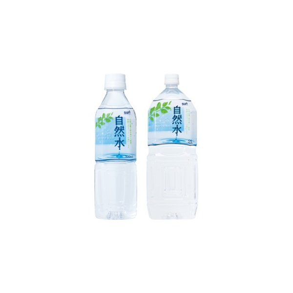 サーフビバレッジ 自然水 2L×12本(6本×2ケース) 天然水 ミネラルウォーター 2000ml 軟水 ペットボトル|relief-safe-shop
