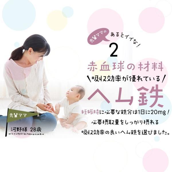葉酸サプリ 妊活中 先輩ママのあるとイイなを形にした葉酸 3個セット モノグルタミン酸型葉酸 シールド乳酸菌 ヘム鉄 妊娠 妊婦 赤ちゃん 授乳 出産 ビタミン|relieflife|09