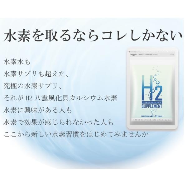 H2八雲風化貝カルシウム水素 水素サプリ カルシウム アスタキサンチン 健康サプリメント 健康サプリ 水素サプリメント relieflife 07