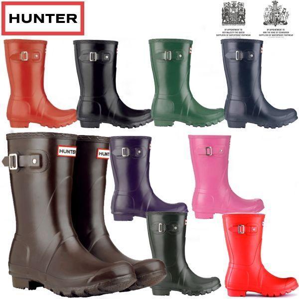 ハンター レインブーツ 防水ブーツ ショート 正規品 メンズ レディース 大きいサイズ オリジナル クラシック HUNTER ORIGINAL SHORT CLASSIC 長靴 雨靴 reload-ys