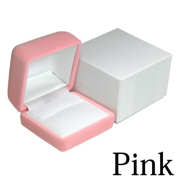 ジュエリーケース リング 指輪 外化粧箱付き リングケース 指輪ケース フロッキング レリアコレクション|remake|05
