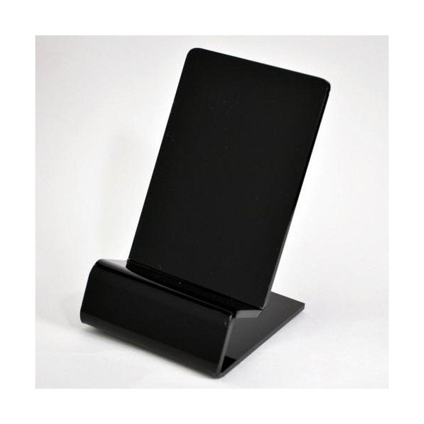 展示用 スマホ スマートフォン 携帯電話 スタンド iPhone android ディスプレイ ブラック クリア remake 03